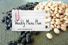 Menu Plan | Week of August 19, 2013 - Thrifty Veggie Mama