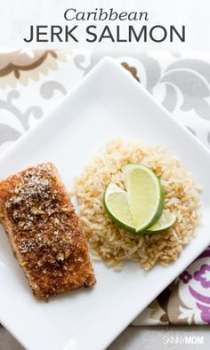 Set sail with this caribbean jerk salmon recipe on our site today! Click here to get the full instructions.