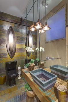 Veja mais em Casa de Valentina http://www.casadevalentina.com.br #details #interior #design #decoracao #detalhes #bathroom #banheiro #casadevalentina