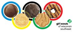 Have you been watching the athletes at #Sochi2014? Girl Scout cookies make everything a little bit sweeter... including the Winter Olympics!