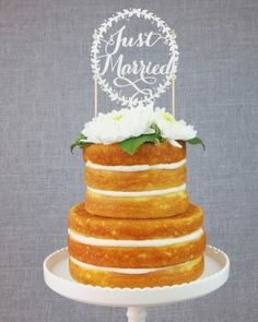 "See the ""Full Circle"" in our 21 Wedding Cake Toppers That Really Do Take the Cake gallery"
