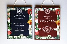 Le Jardin Colonial - concept packaging