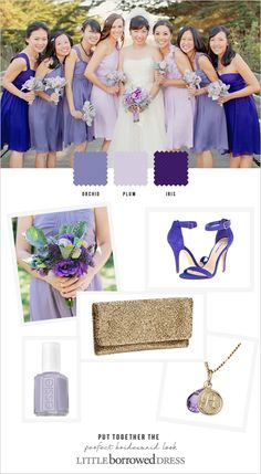 Rent Your Bridesmaid Dresses From Little Borrowed Dress