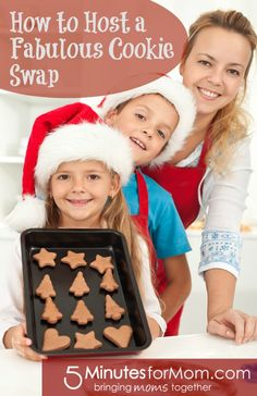How to host a fabulous cookie swap on 5MinutesForMom.com