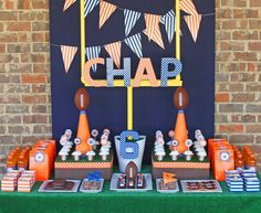 themed birthday parties, theme parties, football parties, kid birthdays, birthday party themes, sport party, parti idea, kid birthday parties, football birthday