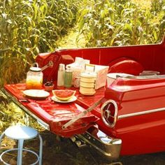 The tailgate picnic.