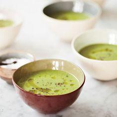 Zucchini-and-Watercress Soup