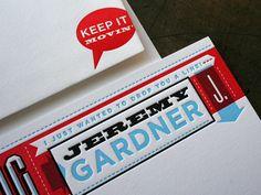 Jeremy Gardner Stationery