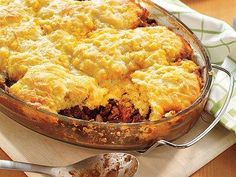 Vegetarian Chili Casserole with Cornbread Topping | Gourmet Kosher Cooking