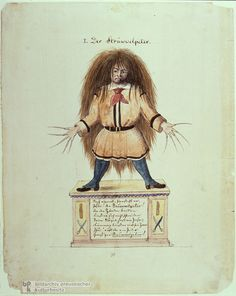 Struwwelpeter by Heinrich Hoffmann. http://www.annabelchaffer.com/categories/Childrens-Gifts/