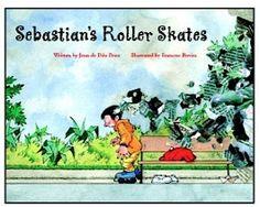 FREE Online Read-A-Loud for Kids: Sebastian's Roller Skates {read by Caitlin Wachs} #kids #books