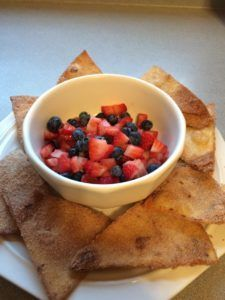 Fruit Salsa with Cin