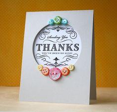 Make It Monday #54: Glitter Buttons by L. Bassen, via Flickr