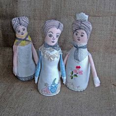 Parlour Dolls from Stichy woo woo