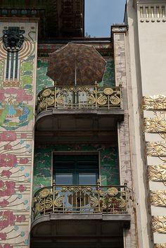 Majolica House, Otto Wagner, Vienna