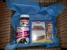 Passover care package to college girl -- start with the Passover products.