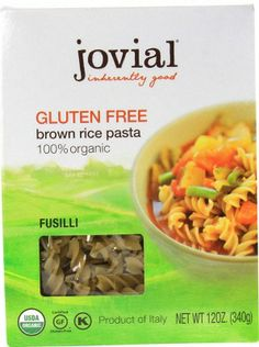 Jovial Gluten Free Pasta http://www.onegreenplanet.org/vegan-food/the-low-down-on-gluten-free-pasta-brands/5/