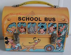lunch boxes, bus lunch, lunches, rememb, disney school