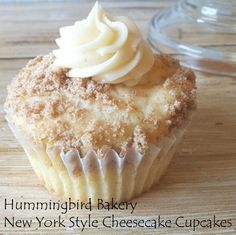 New York Style Cheesecake Cupcakes