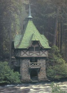 Teahouse, Wyntoon,  Siskiyou County, California,   photo via lori