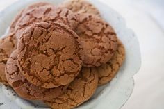 Extra large ginger cookies, with ground ginger, cinnamon, cloves, and molasses.