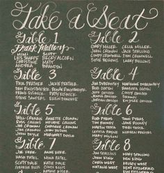 Chalkboard Sign // Wedding // Custom Made by MysticsandMint, $175.00
