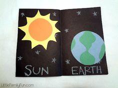 Little Family Fun: Preschool Space Book