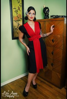 full skirts, cloth, frenchi dress, dresses, knots, frogs, fashionsew inspir, vintage style, red black