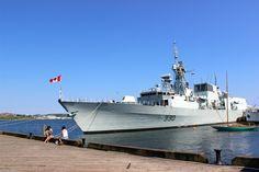 HMCS 330 Halifax. Halifax, Nova Scotia, Canada.