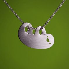 sloths, style, vintage, list, handmade gifts, necklaces, silver hang, sloth necklac, design