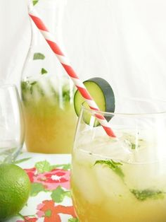 Cucumber and Mint Cocktail