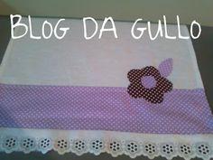 Corte e costura - pano de prato com patchcolagem