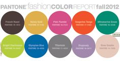 Fall color trends!