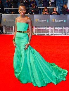 Strapless green Christian Dior Couture