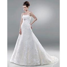 Find modest long church bridal wedding dress only $163.95