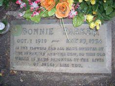 Bonnie Parker  Bonnie and Clyde.