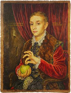 Boy With Apple Canvas Grand Budapest Hotel boy with apple