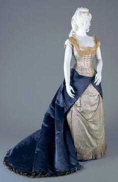 Worth Reception Dress, 1877-78.
