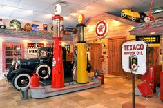 Our Man Cave - 20's Texaco Station - In Our Show Room -  OSR66