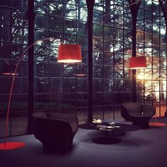 Twiggy lighting by Foscarini