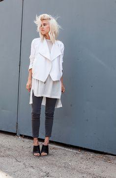 White #white #style #fashion
