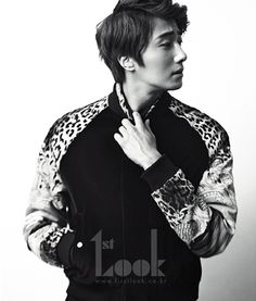 Jung Il Woo for First Look