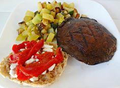 """Grilled Portobello """"Burger"""""""