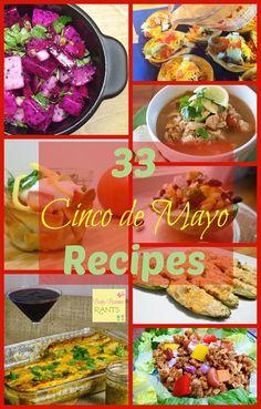 33 Mexican Recipes