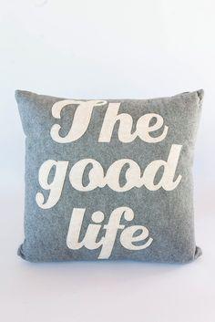 The Good Life Pillow – Umba