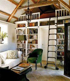 ladder. loft. library. lovely.