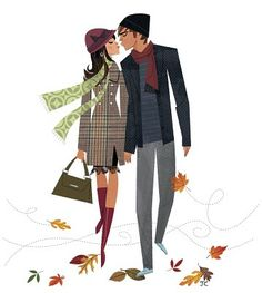 alley cats and drifters: an autumnal smooch