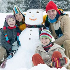 """TLC Family """"Top 5 Winter Safety Tips for Kids"""" card designs, famili, holiday cards, card inpir, christma mosaic, kid"""