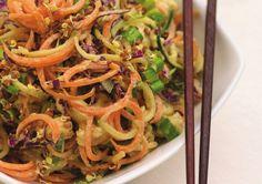 Raw Pad Thai, no pasta all veggies