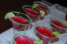 martini, party drinks, parti, bridal showers